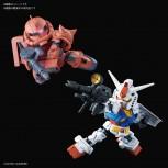 SD Gundam Cross Silhouette RX-78-2 Gundam & Char's Zaku II