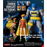 MAFEX Batman Blue Ver. & Robin (The Dark Knight Returns)
