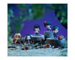 DEFORMATION FIGURE Demon Slayer Tanjiro & Friends Mascot Set (With Bonus)